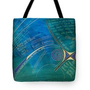 Labyrinth Of Words Tote Bag