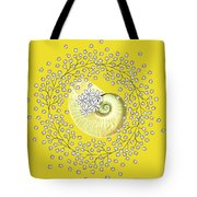 Lacy Look Shell Tote Bag