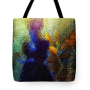 Lady In The Garden Tote Bag