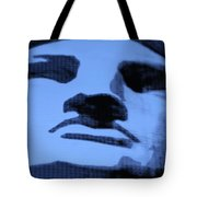 Lady Liberty In Cyan Tote Bag