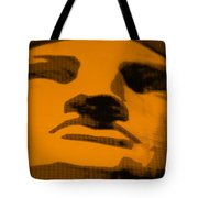 Lady Liberty In Orange Tote Bag