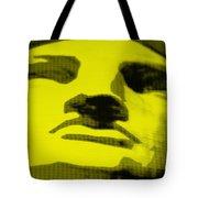 Lady Liberty In Yellow Tote Bag