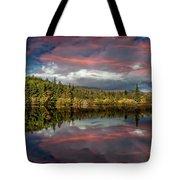 Lake Bodgynydd Sunset Tote Bag
