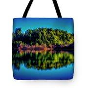 Lake Double Reflection Tote Bag