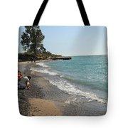 Lake Michigan Frankfort Mi Tote Bag
