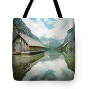 Lake Obersee Boat House Tote Bag