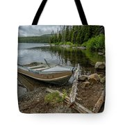 Lake Olalie Boat  Tote Bag by Matthew Irvin