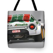 Lancia Stratos Rear Tote Bag