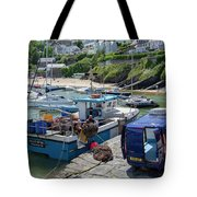 Landing The Catch Tote Bag