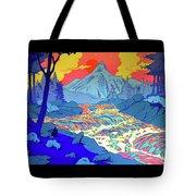 Landscape River Tote Bag