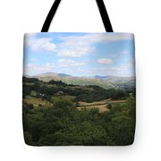 Landscape View From Little Langdale Tote Bag