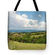 Landscape With Orchards Tote Bag