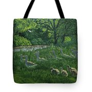 Last One In's A Duck Tote Bag