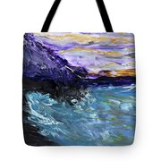 Lava Cove Tote Bag