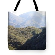 Layers Of A Mt. View Tote Bag