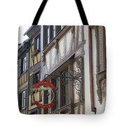 Le Tire Bouchon Winstub Sign Tote Bag