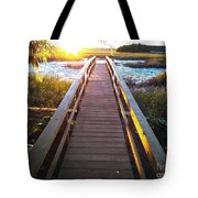 Lead Me To The Light Tote Bag