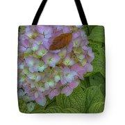 Leaf And Pink Tote Bag