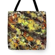 Leaning Strata Tote Bag