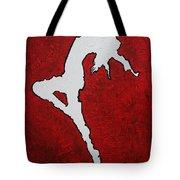 Leap Of Faith Original Painting Tote Bag