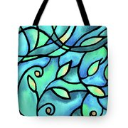 Leaves And Curves Art Nouveau Style II Tote Bag