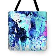 Legendary Alanis Morissette Watercolor Tote Bag