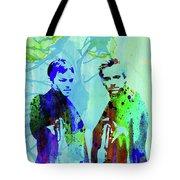 Legendary Boondock Saints Watercolor Tote Bag