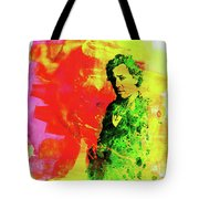 Legendary Bruce Watercolor Tote Bag