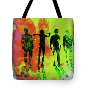 Legendary Clockwork Orange Watercolor Tote Bag