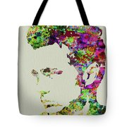 Legendary James Dean Watercolor Tote Bag