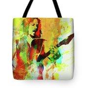Legendary Kirk Hammett Watercolor Tote Bag