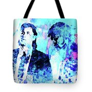 Legendary Pulp Fiction Watercolor Tote Bag