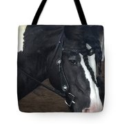 Leo In Braids Tote Bag