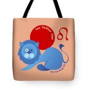 Leo - Lion Tote Bag by Ariadna De Raadt