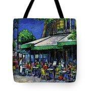 Les Deux Magots Paris Tote Bag