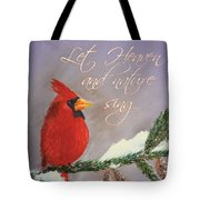 Let Heaven And Nature Sing Tote Bag