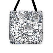 Let's Talk Art #02 Tote Bag