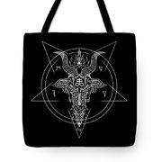 Leviathan Pentagram  Tote Bag