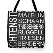Liechtenstein 1 Tote Bag