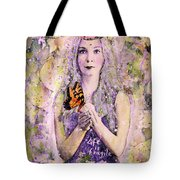 Life Is Fragile Tote Bag