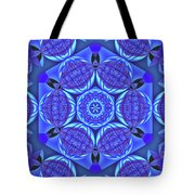 Life On A Blue Planet Tote Bag