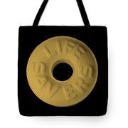 Life Savers Butterscotch Tote Bag