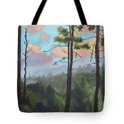 Lifting My Soul At Pink Knob - In Elliay Tote Bag