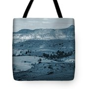 Light And Shadow In West Dakota Tote Bag