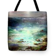 Light Of The Silvery Moon Tote Bag