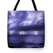 Lighting Sea Tote Bag