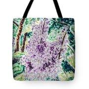 Lilac Dreams Tote Bag by Monique Faella