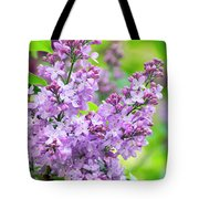 Lilac Flowers Tote Bag