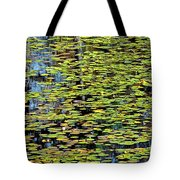 Lilly Pond Painting Tote Bag