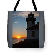 Lime Kiln Sunset Tote Bag